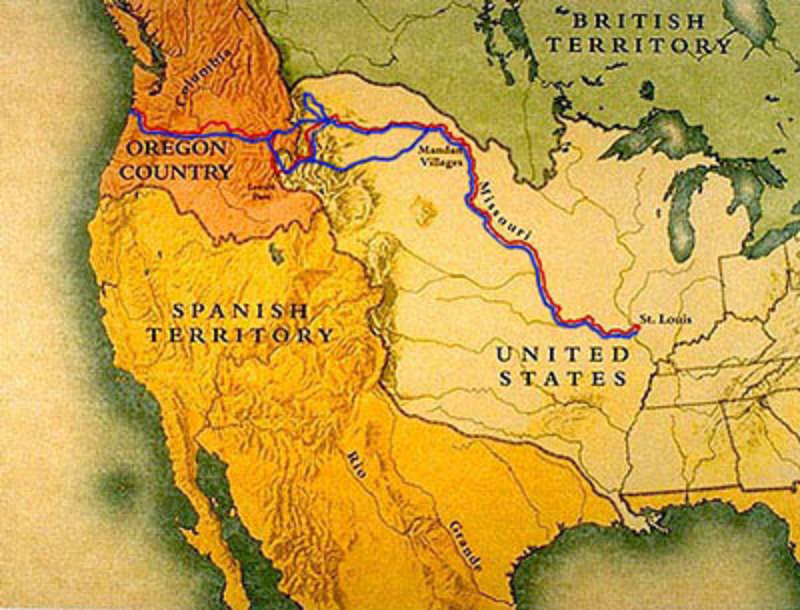 A3 Lewis_and_Clark_Expo_Map, Romantic Era