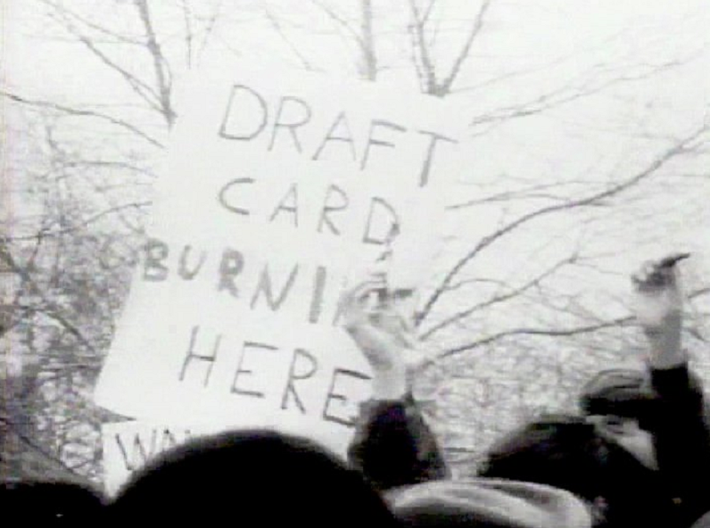 A7 Draft_card_burning_NYC_1967, Postmodernists