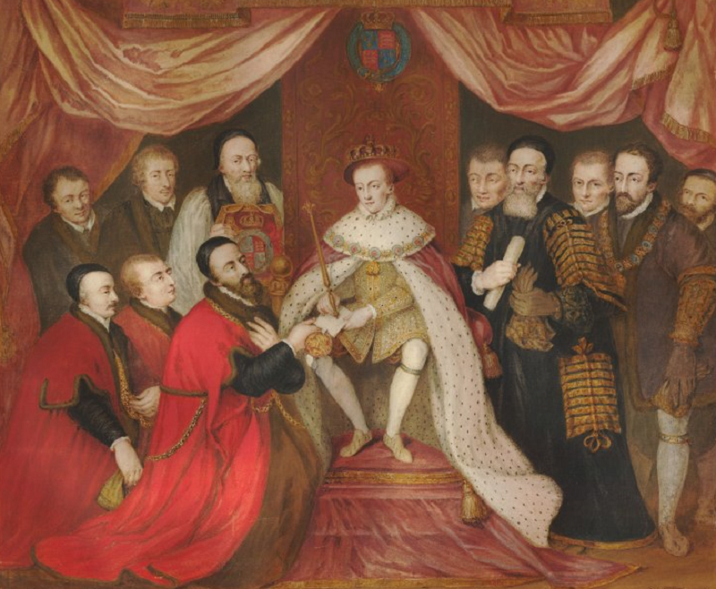 B3 Edward_VI_granting_the_Royal_Charter_to_Bridewell_Hospital, Renaissance