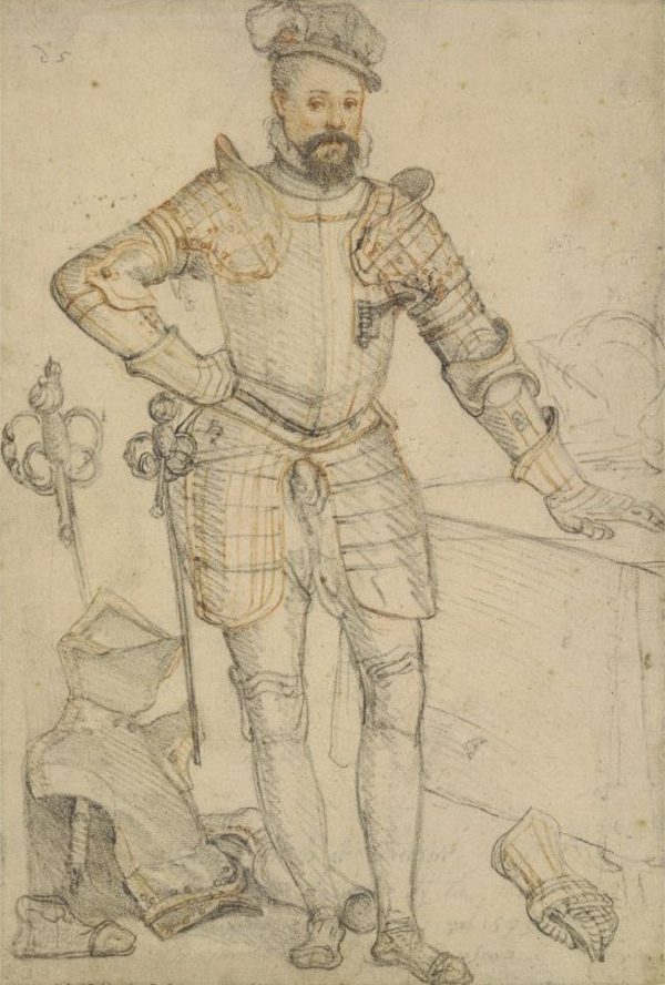 B3 Robert_Dudley_Earl_of_Leicester_drawing_by_Zuccaro_1575, Renaissance