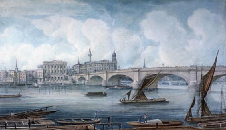 B5 London_Bridge_George_Yates_c._1832, Romantic Era