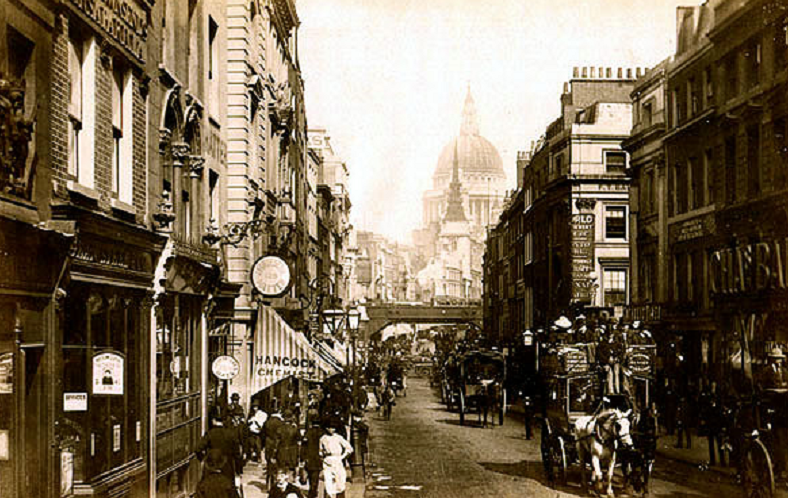 B6 Fleet_Street._By_James_Valentine_c.1890., Victorian Era
