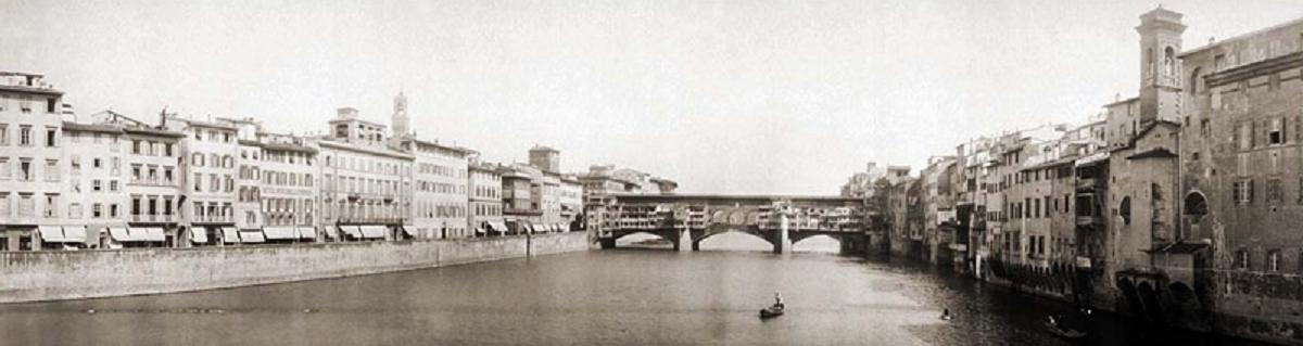 W2 PictureFlorenceItalyPonteVecchio1909, European Literature
