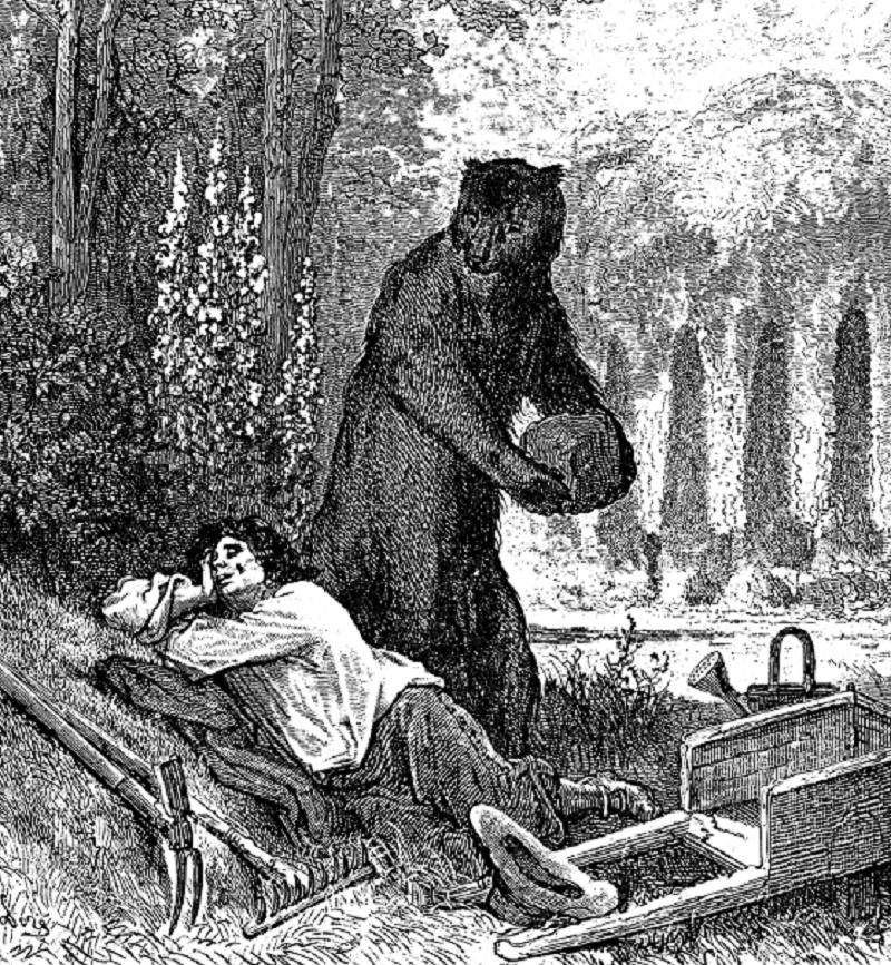 W6 Gustave_Dore_L'Ours_Et_L'Amateur_Des_Jardins, Mythology